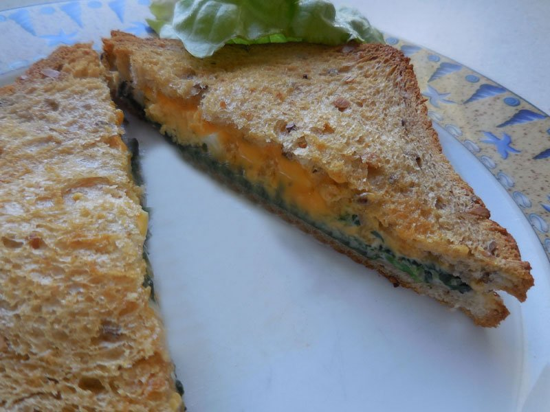 Spinach Croque-monsieur