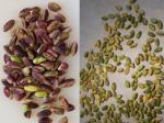 [How to peel pistachios]
