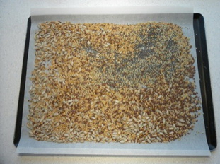 Making the most of seeds: dry roasting