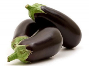 egg-plant or aubergine