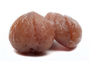 marrons glacés (candied chestnuts)
