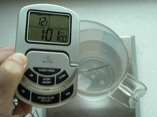 Basic temperature in bread-making