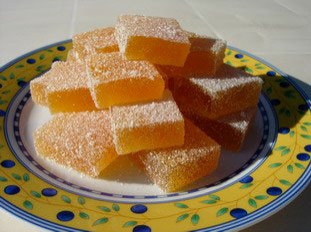 Passion fruit jellies