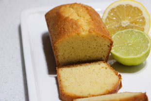 Lemon and lime cakes