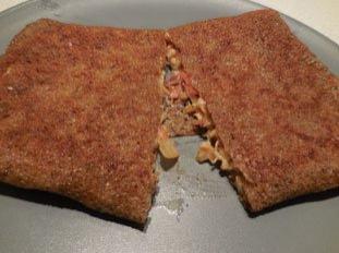 Mushroom buckwheat pancakes