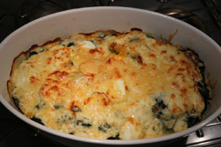 Spinach Mornay