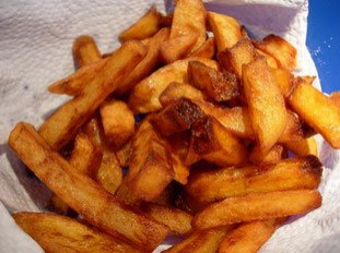 Real home-made chips*