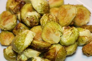 Oven-roasted Sprouts