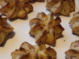 Dauphinoise potatoes with Serano ham