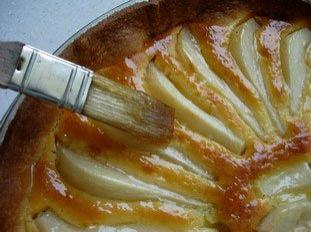 How to glaze a tart